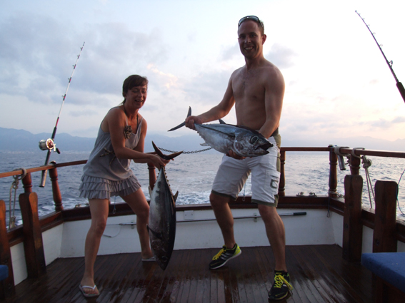 GOOD SIZE ALBACORE TUNA